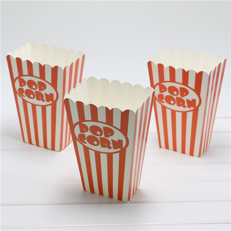 paper popcorn boxes This pink popcorn box is a very retro looking open top popcorn box download this is a template of very realistic looking popcorn on a fast food paper box.
