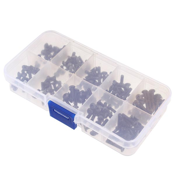Wholesale M3 Hexagonal Socket Button Head Screw RC Car Kit(China (Mainland))