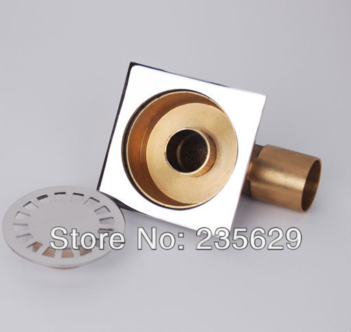 Free Shipping, High quality Brass floor drain,Anti odor, Anti water backing, Anti virus,Chrome Plated Surface, Diameter is 40mm<br><br>Aliexpress