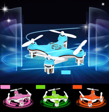 Free Shipping Cheerson CX-10 CX10 Mini 2.4GHz  4CH RC Remote Control Quadcopter Helicopter Drone CX 10 LED Toys With Gift(China (Mainland))