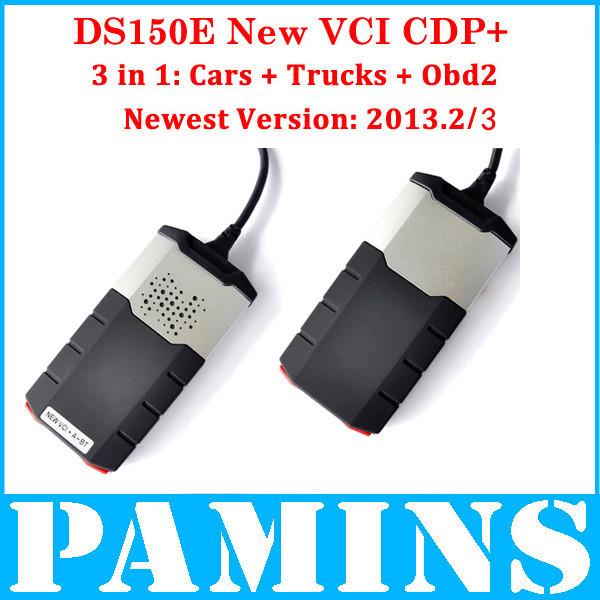 2014 Del ds 150e ds150 e cdp pro plus new vci tcs car truck diagnostic scan tool auto scanner Ds Led 3 1