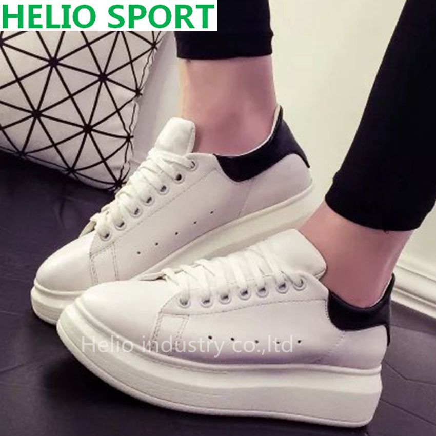 Casual Sport Shoes Female Fashion Sneakers Women Flat Board Ladies Jogging Trainers New Brand Platform Shoes Zapatos Hombre 20a7(China (Mainland))