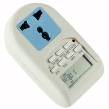 1 unids Programable Temporizador Electrónico Socket Temporizador Digital de LA UE Plug Nuevo Envío Libre