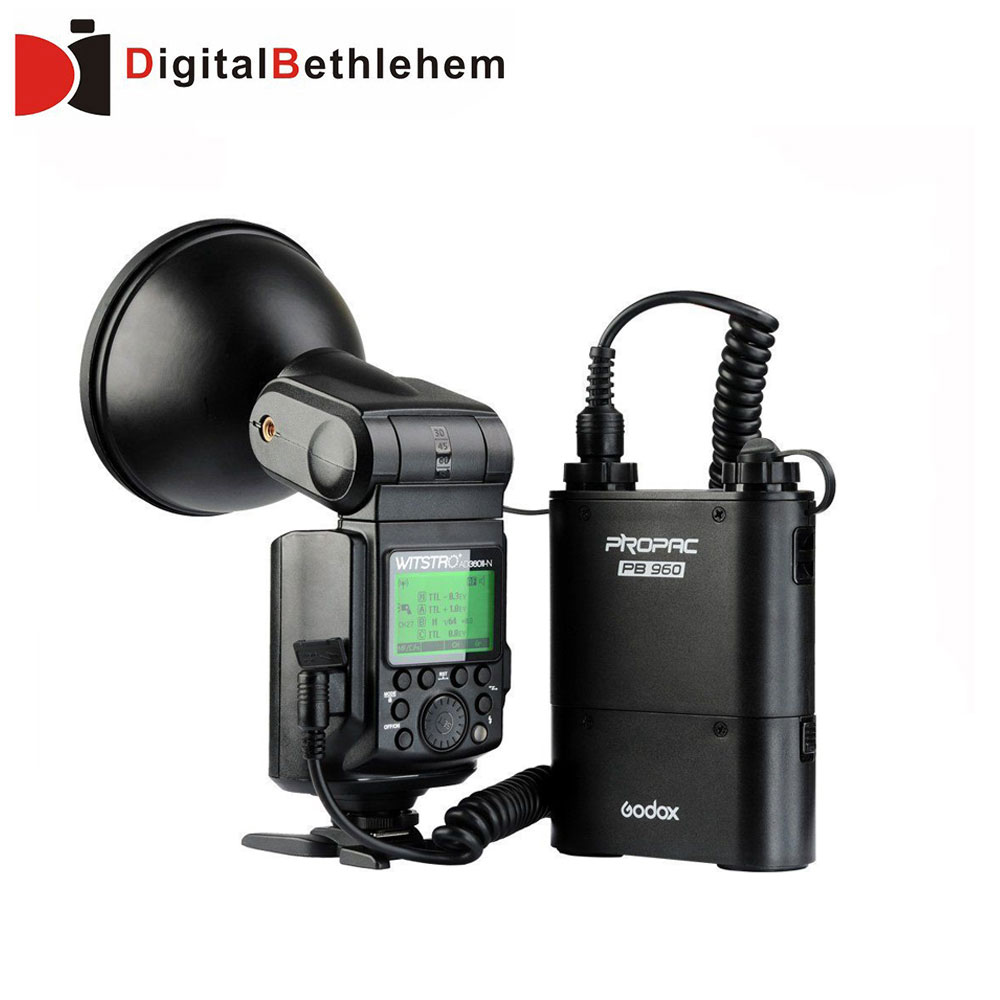 Godox Witstro AD360II-N 360W GN80 E-TTL Flash Speedlite &amp; PB-960 Battery pack ( black color ) for Nikon<br><br>Aliexpress