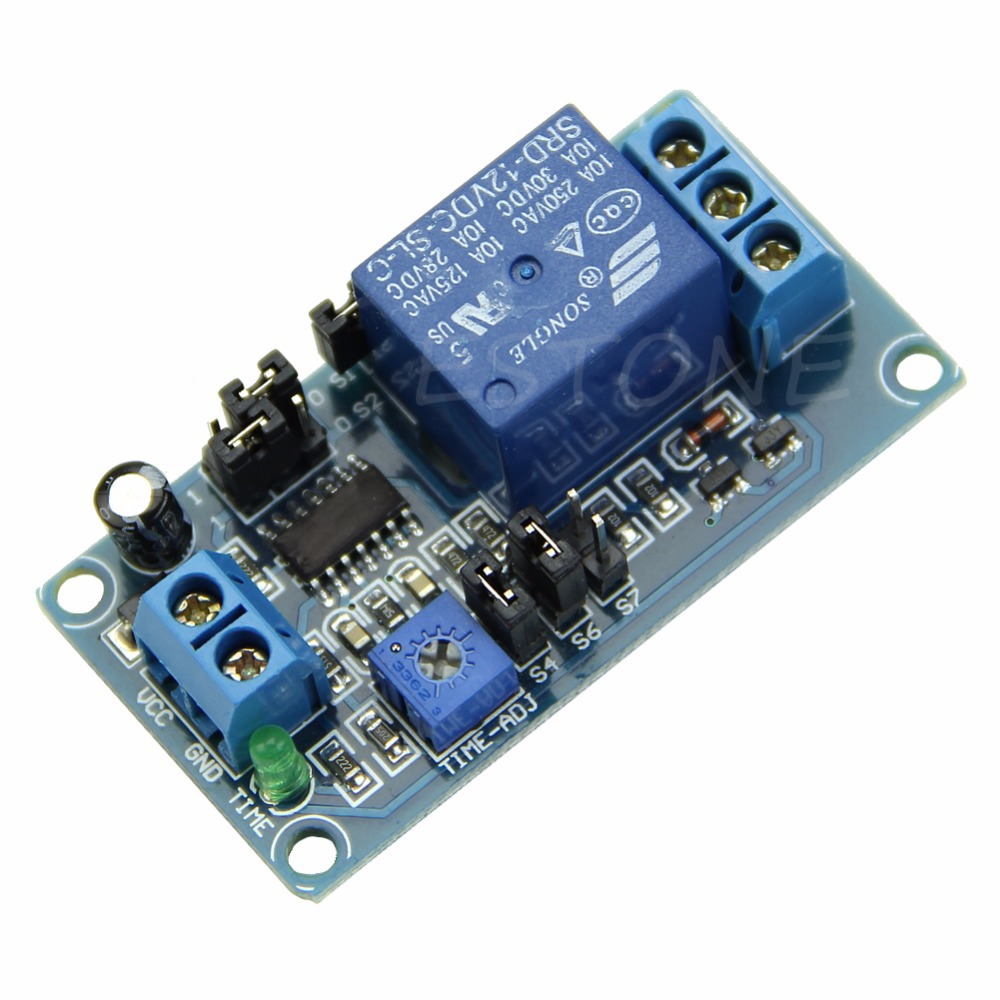 1 PC Delay Relay Delay Turn on / Delay Turn off Switch Module with Timer DC 12V(China (Mainland))