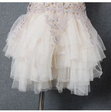New 2016 summer 2 9 years children s clothing Girls lace dress Mesh tutu Hollow Princess