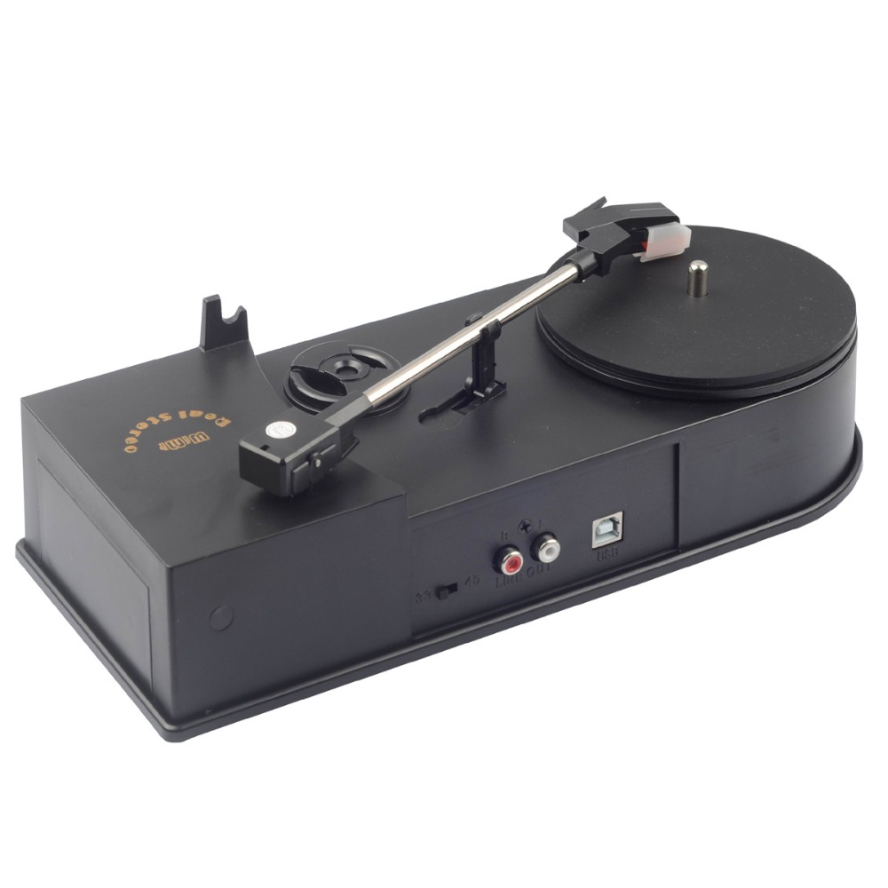 USB Phonograph CD Turntable Vinyl Player Support Turntable Convert LP Record to CD or MP3