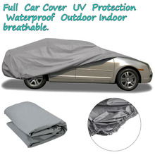 2016 Newest Indoor Outdoor Full Car Cover Sun UV Snow Dust Rain Resistant Protection Size S M L XL Car Covers Free shipping(China (Mainland))