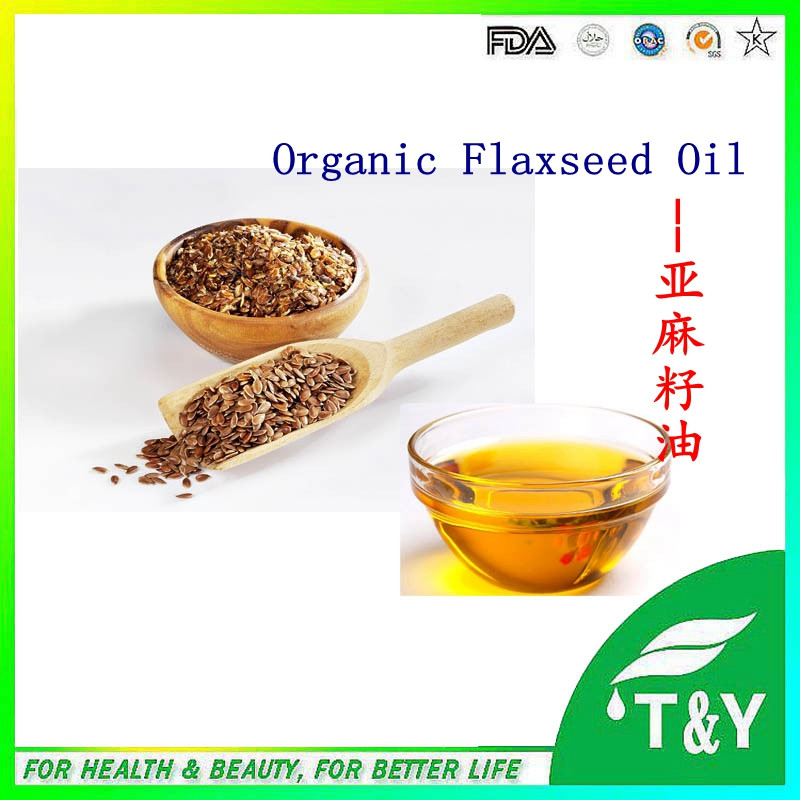 100% Pure organic Cold Pressed Raw Crude Flaxseed Oil Linseed Oil  linseed oil 900g/lot with free shipping