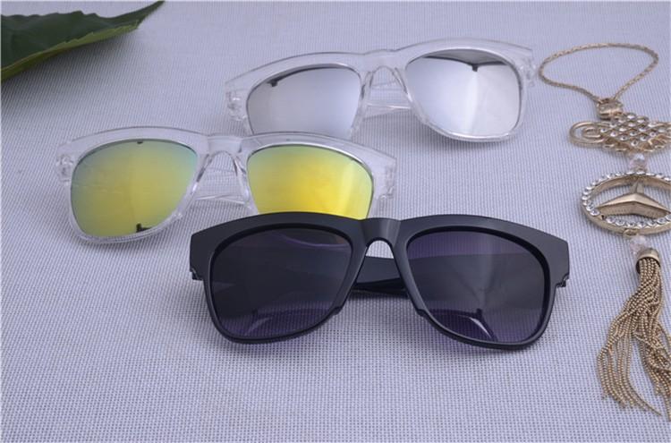 BOUTIQUE Fashion multicolour 2016 mercury Mirror glasses men sunglasses women male female coating sunglass gold round OCUL Z2