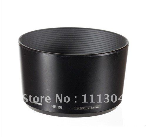 Free shipping+ tracking number camera new 100PCS  HB-26 Lends Hood for Nikon 70-300 AF-G f/4.0-5.6 Camera Lens<br><br>Aliexpress