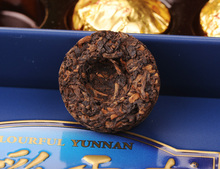 Exquisite gift box Colorful yunnan High quality pu er tea Ripe tea Small TuoCha Chinese puer