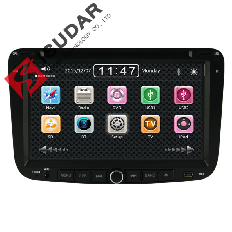 Two Din 7 Inch Car DVD Player For Geely Emgrand EC7 2012 With 3G Host GPS Navigation Bluetooth IPOD TV Radio RDS V-CDC Free Maps<br><br>Aliexpress