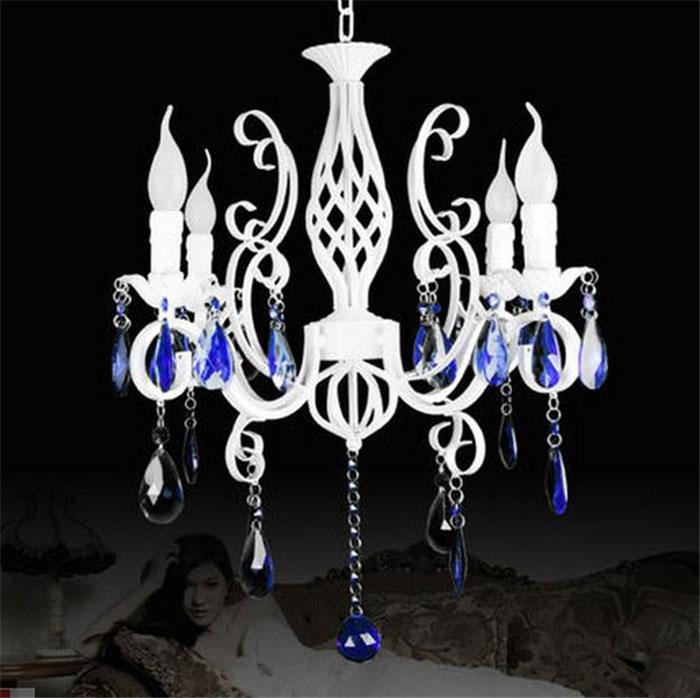 Bianco lampadari in ferro promozione fai spesa di articoli in ...