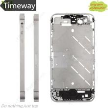 Timeway Silver Bezel Middle Frame Chassis Housing Plate Mid Board for iPhone 4S 4GS(China (Mainland))
