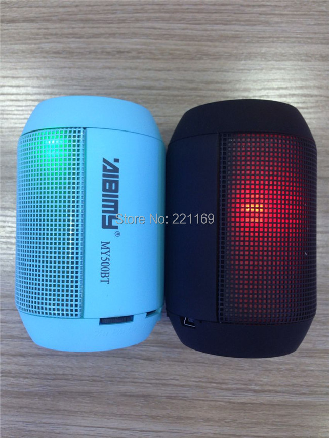 pulse speaker MY500BT wireless bluetooth led light portable subwoofer handfree TF/USB