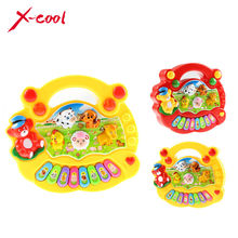 XC8831-1 Baby Kid's Popular Animal Farm Piano Music Toy Electrical Keyboard Developmental Piano Toy(China (Mainland))