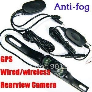 wireless long size Parking Rear view Car Camera Mount Night Vision Camera for GPS