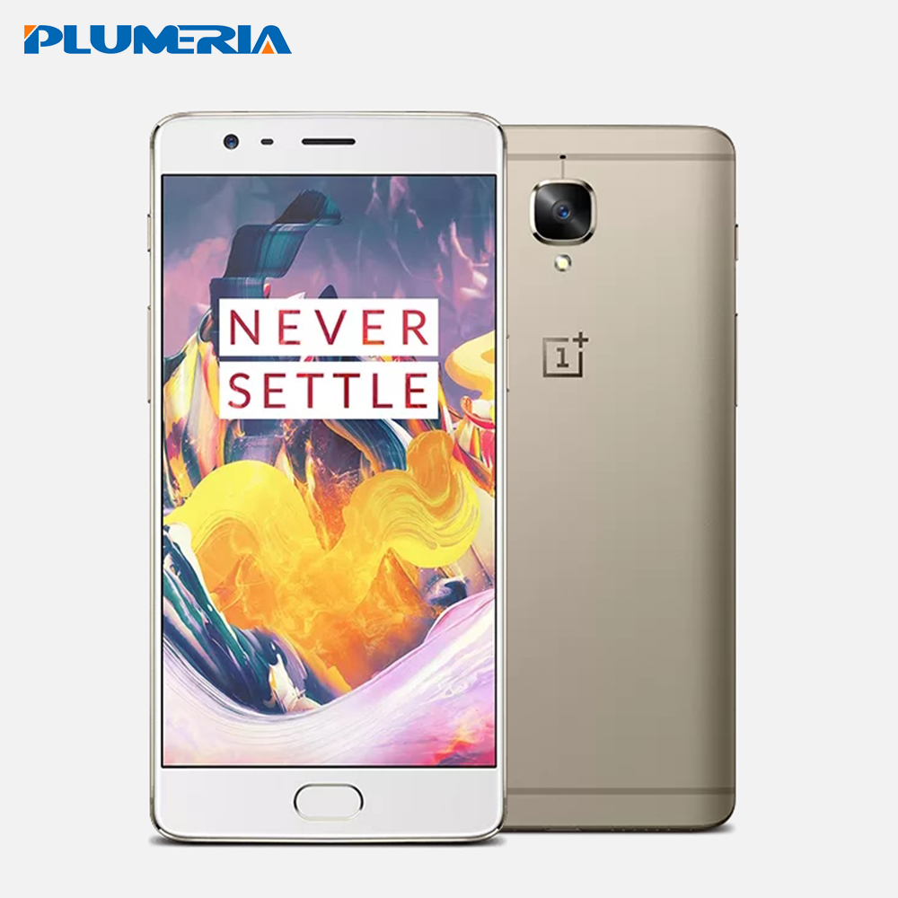 Original Oneplus 3T A3010 One plus 3T Mobile Phone Dual SIM Snapdragon 821 Fingerprint NFC 6G RAM 64/128G ROM 16MP Android 6.0(China (Mainland))