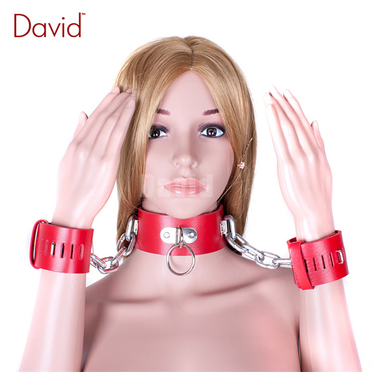 http://g02.a.alicdn.com/kf/HTB11ilHKXXXXXXAXFXXq6xXFXXXj/David-Red-Leather-Heavy-font-b-Metal-b-font-Chain-Lockable-Collar-Handcuffs-Positioning-Gear-Slave.jpg