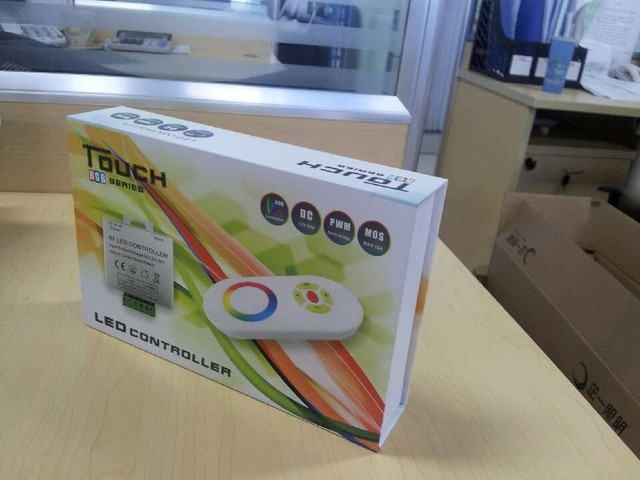 LED RGB touch controller,DC12-24V input,max 5A*3 channel output