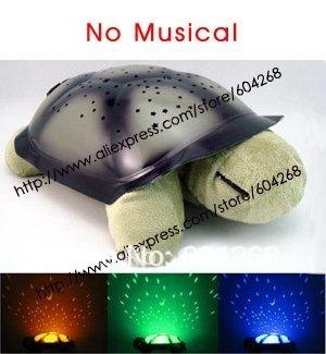 Free shipping Turtle Night Light Stars Constellation Lamp With Retail Box,3pcs/lot