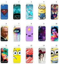 15Designs Mobile Phone Case Hot 1pc Superman Logo Butterfly Hybrid Protective White Hard Case For Iphone 6 6S 4.7inch Free Ship