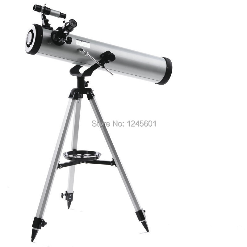 Free Shipping!!Professional F700x76 Newtonian Reflector Telescope. From 35x up to 525x magnifications(China (Mainland))