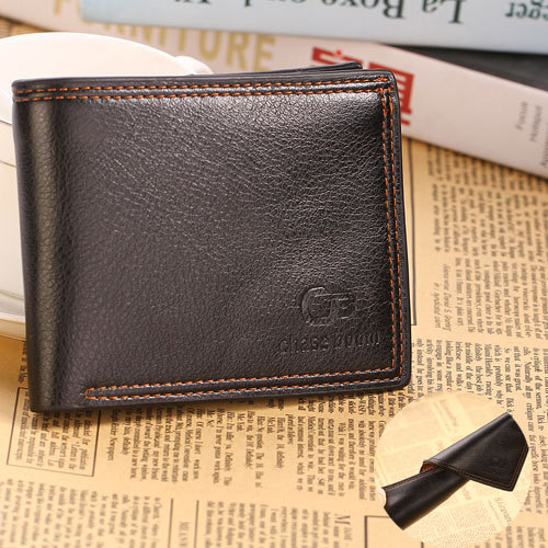 Casual Soft Men Wallets Famous Brand Simply Style Thin Wallets Men Credit Card Holder Men Wallets Male Purses(China (Mainland))