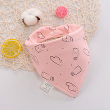 Baberos para bebé baberos Bandana de algodón 100% Babador Baberos para comer Baberos para bebé(China)