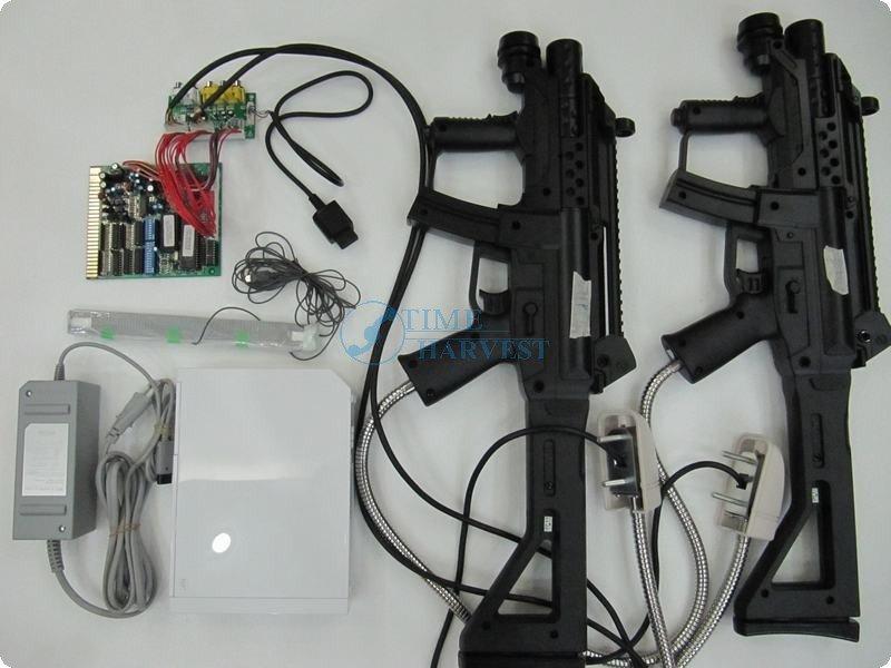 GHOST SQUAD Shooting Game Kit/Amusement Machine game/Simulator fire game/CGA monitor arcade cabinet()