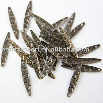 Bronze Antique Brass Tone Base Metal Charm 5x28mm Jewelry Findings Jewelry Accessories Nickel Free!!