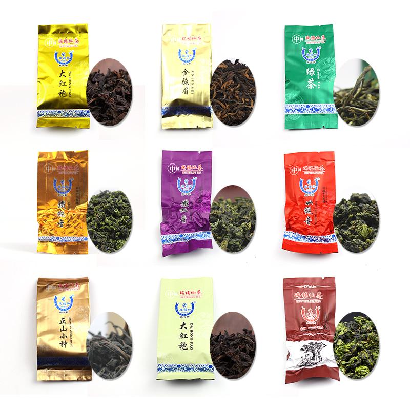 Hot Products 15pcs/box 15 different Flavors Chinese Oolong Tea (Tieguanyin Da Hong Pao green Tea)ginseng china Food Slimming Tea(China (Mainland))