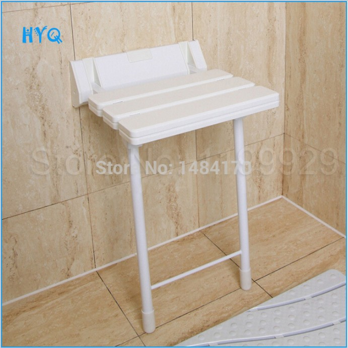 Best Quality Shower Stool  With Stainless Steel Legs Adjustable Height Shower Chair<br><br>Aliexpress