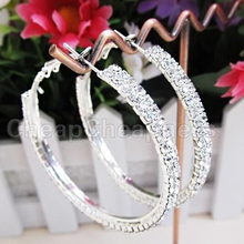 2014 New Designer Women Hoop Earrings/Brand Fashion Jewelry For Women/Vintage Women Earrings(China (Mainland))