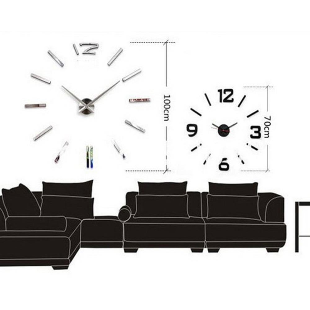 Horloge murale minimaliste for Horloge murale moderne salon