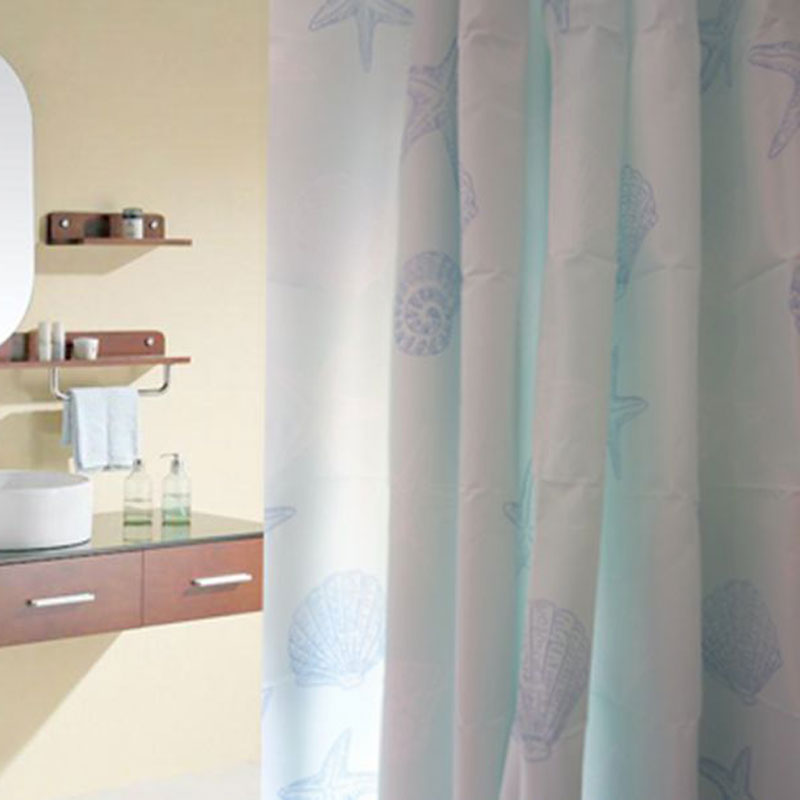 shower curtain waterproof polyester fabric bathroom shower curtain set