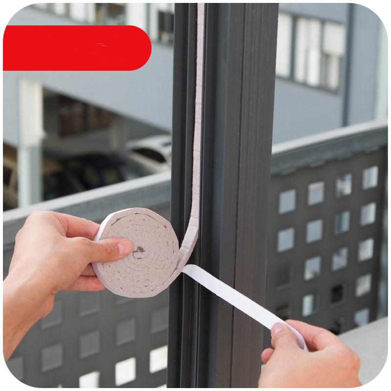 1 Pc Window Seal Stickers Windproof Anti-Noise Windows And Doors Apertural Seal F2142(China (Mainland))