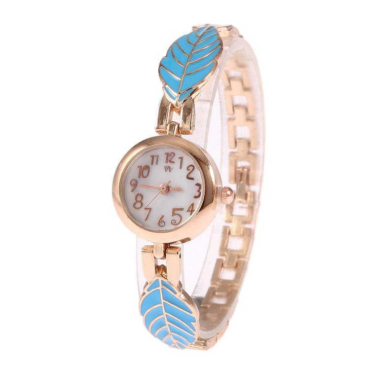 Wholesale! Christmas Fashion Stainless Steel Strap Watches Bracelets Women Dress Wristwatches Free Shipping(China (Mainland))