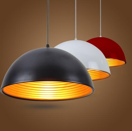 Loft Style Aluminum Droplight Modern LED Pendant Light Fixtures Living Dining Room Bar Hanging Lamp Home Lighting Lamparas - JIAMEI LIGHTING store