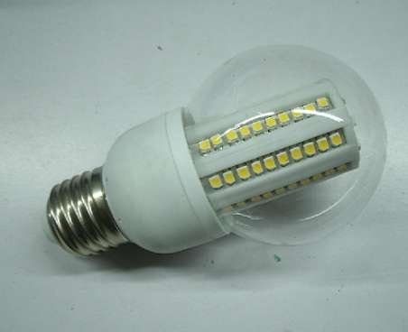 E27 bulb,90pcs 3528 SMD LED, 5W,white or warm white color