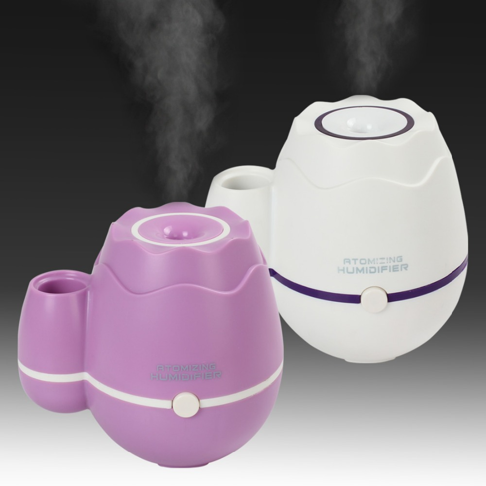 Гаджет  300ml USB Ultrasonic Air Humidifier Mist Maker Fogger Electric Aromatherapy Essential Oil Diffuser for Home/Office/Workshop None Бытовая техника