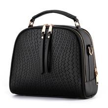 Yoyo! 2016 Spring Women Bags Weave Tassel PU Leather Handbags Women Shoulder Knitting Bag Ladies Casual Women Messenger Bags