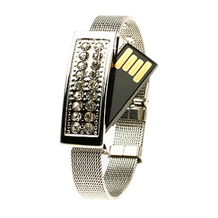 Crystal bracelet usb flash drive girls female birthday gift novelty gift