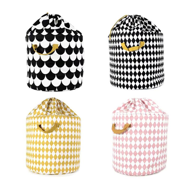 12 styles Baby Childern toys clothes storage bag,Cotton Drawstring Clothes Organizer Laundry Basket,Portable kids storage bag(China (Mainland))