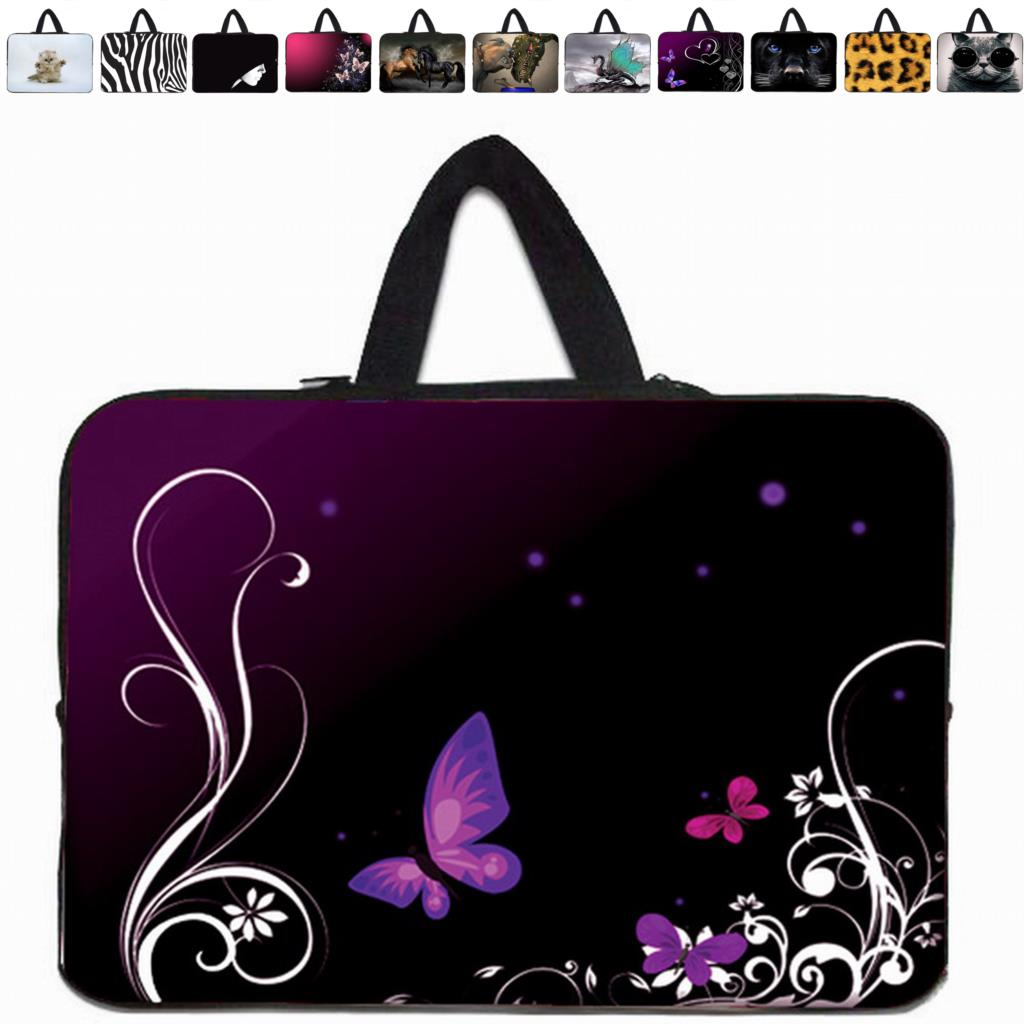 7 10 12 13 14 15 17 inch Laptop Sleeve Neoprene Cases Computer Accessories Fashion 17.3 15.6 13.3 14.1 11.6 10.1 7.9 Bags Cover(China (Mainland))