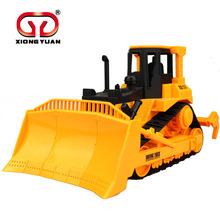 Boy Kid Gift Large Crawler Bulldozer Digging Toys Model Bulldozer Farmland Tractor Truck Toy Car 3-7Y(China (Mainland))