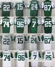 New 15 Brandon Marshall 22 Matt Forte 24 Darrelle Revis 87 Eric Decker 96 Muhammad Wilkerson 7 Geno Smith 74 Nick Mangold(China (Mainland))