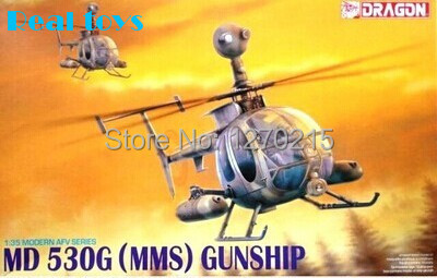 Dragon model 3526 1/35 MD530 helicopter plastic model kit(China (Mainland))