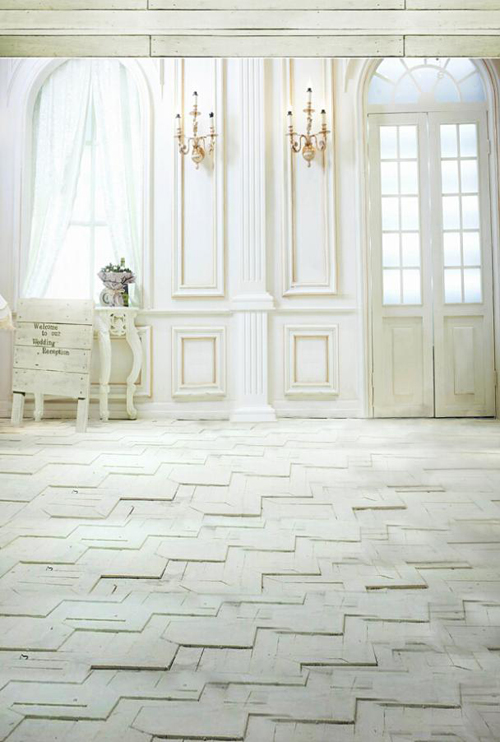 HUAYI indoor photography backdrops fashion photo background brick floor backgrounds for photo studio for baby camera D9744(China (Mainland))
